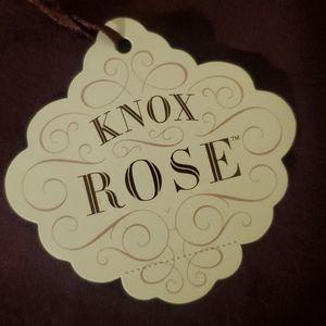 Knox Rose Sweaters - NWT Knox Rose Long Sleeve Top